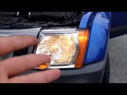 2015 nissan xterra headlight bulb replacement