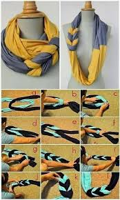 How To Make Beautiful DIY Braided Scarves Step By Tutorial Instructions