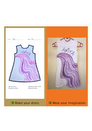 Draw A Picture And Wear Your Awesome Fashion