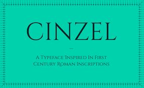 cinzel font family 1001 fonts