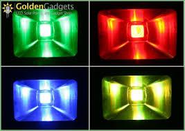 lighting multi color led flood l outdoor color changing led