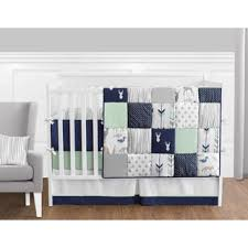 mini crib bedding sets for boy at overstock com