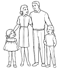 Family Coloring Pages Page Pilular Center