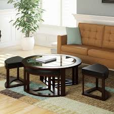 Round Coffee Table With Stools Underneath by Sofa Table With Stools Underneath 51 With Sofa Table With Stools
