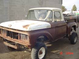 100 1965 Ford Truck Parts F100 4x4 Great Project Or For Sale In West