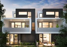 100 Modern Townhouses Chamberlain Architects Hemmingway Duplex House Design