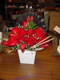 chinese take out box flower Google Search Take Out Boxes