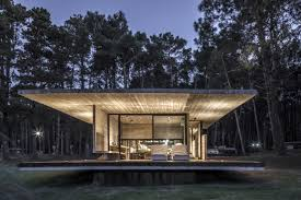 100 House In Forest Striking Keeps It Concreted And Classy On