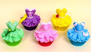 DIY Disney Princess CUPCAKES How to make by CakesStepbyStep