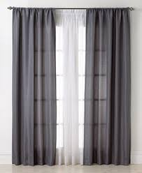 Brylane Home Sheer Curtains by Gold Olive Green Chain Stitch Embroidery Sheer Curtain Panels