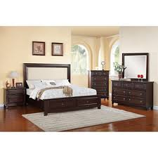 harland bed with upholstered headboard bedroom set choose size