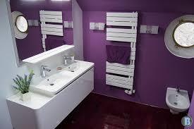 salle de bain mauve salle de bain mauve et blanc photos de conception de maison