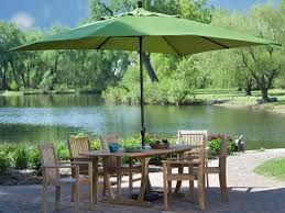 Patio Dining Sets Walmart by Patio 58 Yellow Patio Umbrellas Walmart With Four Chair And