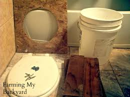 How To Make Your Own DIY Composting Toilet - Farming My Backyard Alcatraz Volunteers Composter Reviews 15 Best Bins And Tumblers Of 2017 Ecokarma 25 Outdoor Compost Bin Ideas On Pinterest How To Start Details About Compost Turner Tumbler Bin Backyard Worm Heres We Used Worms To Get The Free 5 Bins Form The City Phoenix Maricopa County Food Homemade Pallet Composting Garden Make An Easy Diy Blissfully Domestic