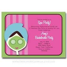 Arbonne Pamper Party Invitation