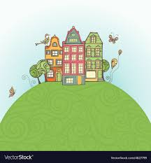 100 House Earth S On The Royalty Free Vector Image VectorStock