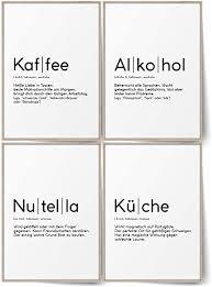 blckart definition küchen bilder poster set stilvolle wandbilder mit definitionen esszimmer wanddeko kaffee küche alkohol nutella a4 ohne