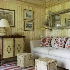 Living Room Pics Of Rustic Rooms Large Window Red Sofa Standing Floor Lamp Funky Pendant