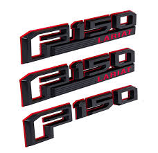 2015-2017 Ford F-150 Lariat OEM Fender & Trunk Emblems Red & Black ... Set Of Delivery Truck For Emblems And Logo Post Car Emblem Chrome Finished Transformers Stick On Cars Unstored Blems In Stock Vintage Car Tow Truck Royalty Free Vector Image Auto Autobot Novelty Adhesive Decepticon Transformer Peterbuilt This Is A Custom Billet Blem That We Machined F100 Hood Ford Gear Lightning Bolt 31956 198187 Fullsize Chevy Silverado 10 Fender Each Amazoncom 2 X 60l Liter Engine Silver Alinum Badge Stock