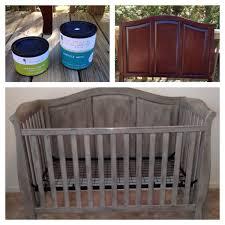 DIY Painted Crib CeCe Caldwell Chalk Paint Connor Jack Pinterest