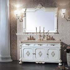 französische rustikale doppel waschbecken estate badezimmer eitelkeit antike weiße bauernhaus badezimmer möbel wts337 buy französisch bad