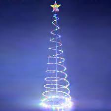 Philips Pre Lit Christmas Tree Replacement Bulbs by Christmas Christmas Treets Amazon Com Yescom 6ft Led Spiralt