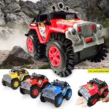 100 Kids Electric Truck Children Toys Off Road Stunt Dump Climbing Car Gift