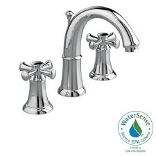 American Standard Colony Faucet by American Standard Colony Soft 8 In Widespread 2 Handle Low Arc
