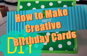 How To Make Birthday Cards