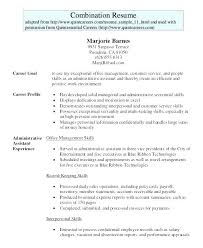 Admin Assistant Resume Sample Singapore Example Office Administrative