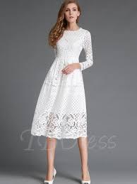 Cheap Lace Dresses Vintage Long Sleeve Plus Size For