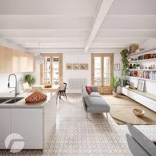 3 Picturesque Scandinavian Country Style Interior Design Apartment