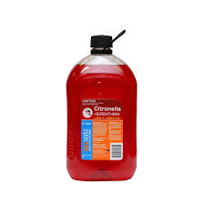Citronella Lamp Oil The Range by Waxworks Citronella Oil With Insecticide 4l Bunnings Warehouse