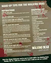 31 Days Of Halloween Amc by Best 25 Walking Dead Zombie Makeup Ideas On Pinterest Walking