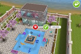 Sims Freeplay Second Floor Stairs by House 2 2nd Building Exterior Walls With Backyard Sims