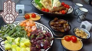 de cuisine ramadan menu ftour du ramadan rafraichissant