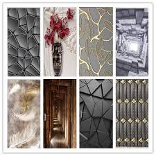 95x215cm vintage reale szenen tür aufkleber elegante wohnkultur aufkleber wasserdichte wandbild abnehmbare tapete für wohnzimmer schlafzimmer