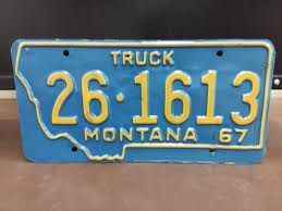 1967 MONTANA TRUCK License Plate Tag - $9.99 | PicClick
