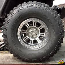 37/12.50R17 #Goodyear #Wrangler #MT/R Tire Under A 2006 #Jeep #TJ ...
