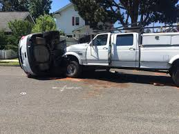 100 Puyallup Cars And Trucks Troopers Patrol Car Rolls After Being Rammed By Truck In