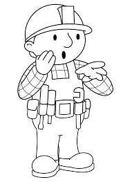 Bob Builder Coloring Pages