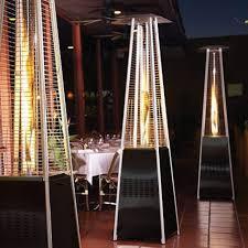 Garden Radiance Stainless Steel Pyramid Outdoor Patio Heater