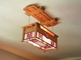 Sofa Creations San Rafael by C R Mackintosh Style Ceiling Light Cherry And Stained Glass