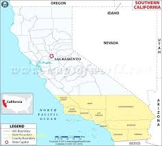 Map For Kids New Of Southern Showing The Counties California Fault Lines 0 Coast