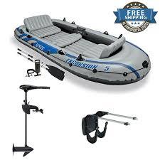 Intex Excursion 5 Floor Board by Inflatable Boat Motor Mount Ebay
