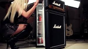 refrigerateur de bureau frigo marshall en forme d li
