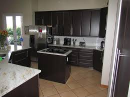 Sears Cabinet Refacing Options furniture black kitchen cabinet refacing with marble countertop