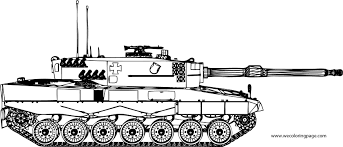 Army Tank Coloring Page Home