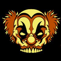 Clown Pumpkin Template by Scary Clown Pumpkin Patterns Patterns Kid