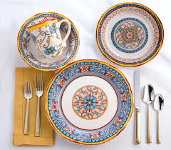 Italian Dinnerware Rustic Sets Design